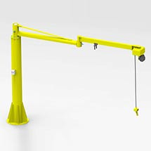 Articulated jib crane manipulators 2RM