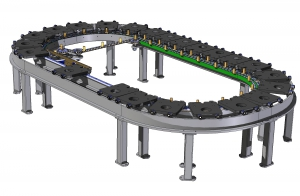 Step cooling conveyor