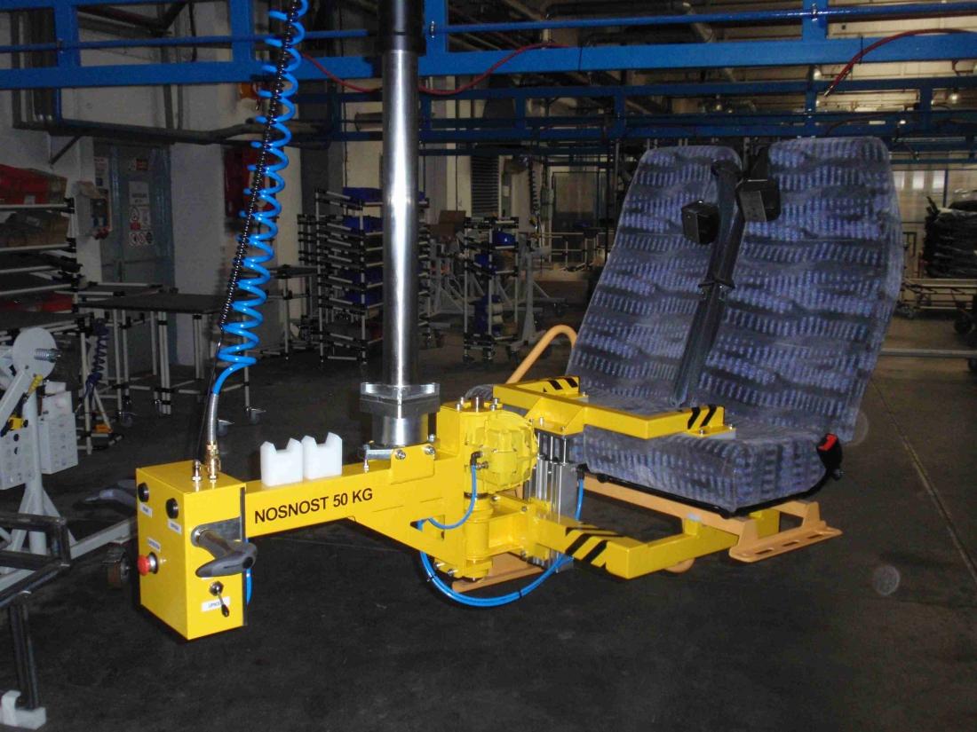 Articulated jib crane manipulators with torque arms 3RM