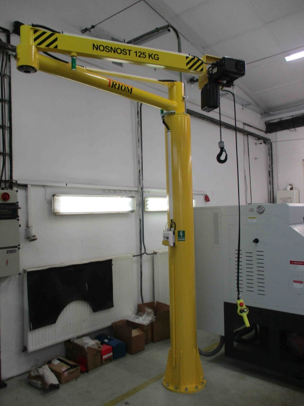 Articulated jib crane manipulator 2RM - Articulated jib